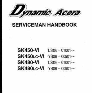 Kobelco Dynamic Acera SK450-VI Service Handbook