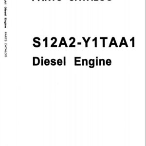Mitsubishi S12A2-Y1TAA1 Engine Parts Manual Related with Hitachi Product