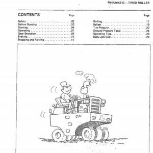Dynapac CP21, CP22, CP27, CP30 Operators Manual
