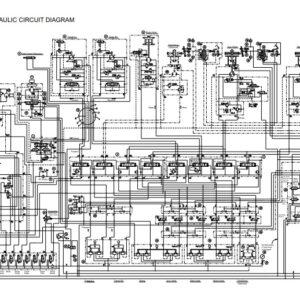 Hitachi Sumitomo SCX700 Carne Circuit Diagrams