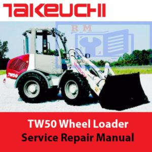 Takeuchi TW50 Wheel Loader Service Repair Manual