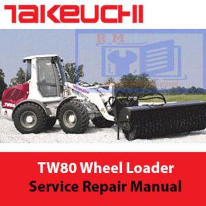 Takeuchi TW80 Wheel Loader Service Repair Manual