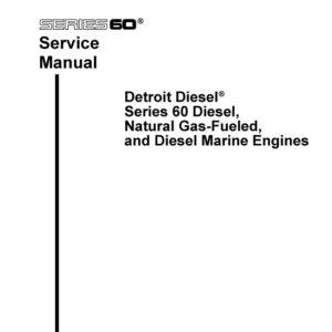 Detroit Diesel Series 60 Service Manual