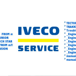 Iveco Service Manuals Full Set Of Collection