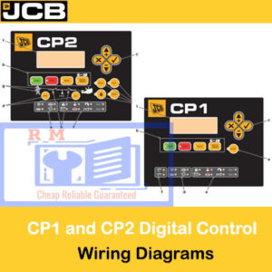 JCB CP1 and CP2 Digital Control Panel Wiring Diagrams