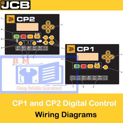 Cp2 Digital Control Panel Wiring Diagrams, Jcb Wiring Diagram Pdf