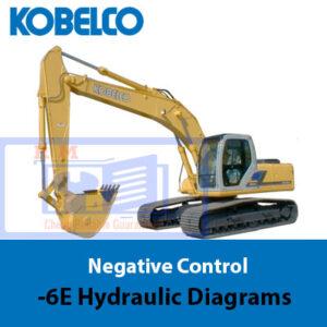 Kobelco Negative Control -6E Hydraulic Diagrams