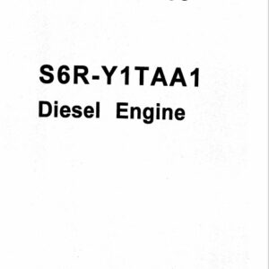 Mitsubishi S6R-Y2TAA1 Engine Parts Catalog Related with Hitachi Product