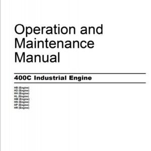 Perkins 400C Industrial Engine operation and maintenance