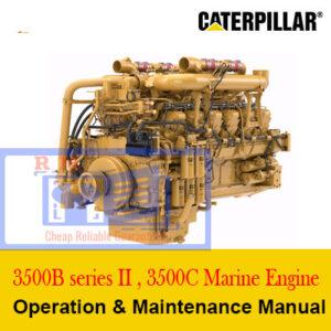 Caterpillar 3500B series II , 3500C Marine Engine Operation and Maintenance Manual