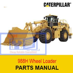 Caterpillar 988H Wheel Loader Parts Manual