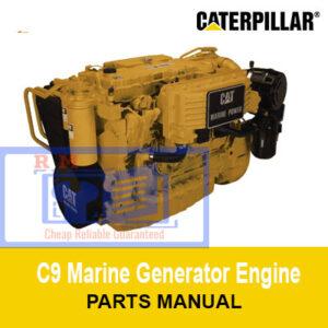 Caterpillar C9 Marine Generator Parts Manual