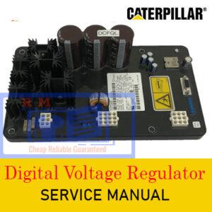 Caterpillar Digital Voltage Regulator Service Manual