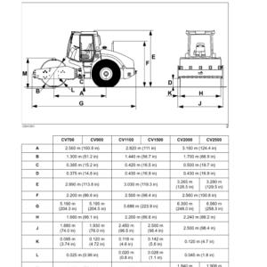New Holland Compactors CV700, CV900, CV1100, CV1500, CV2000, CV2500 Service Manual