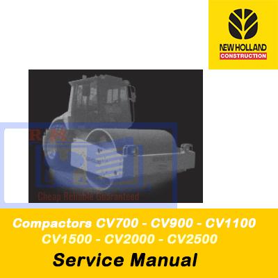 New Holland service repair manual