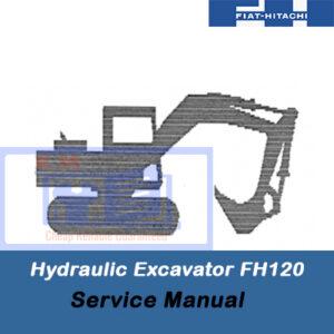 Fiat Hitachi Hydraulic Excavator FH120 Service Manual