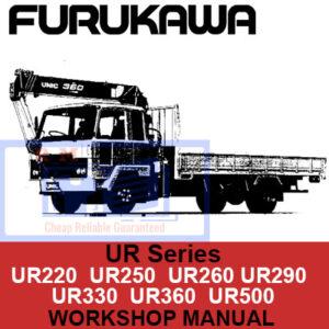 Furukawa Hydraulic Crane UR Series Workshop Manual