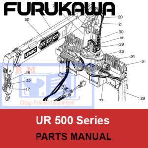 Furukawa Unic Crane UR500 Series Parts Manual