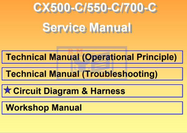 Hitachi CX550 C