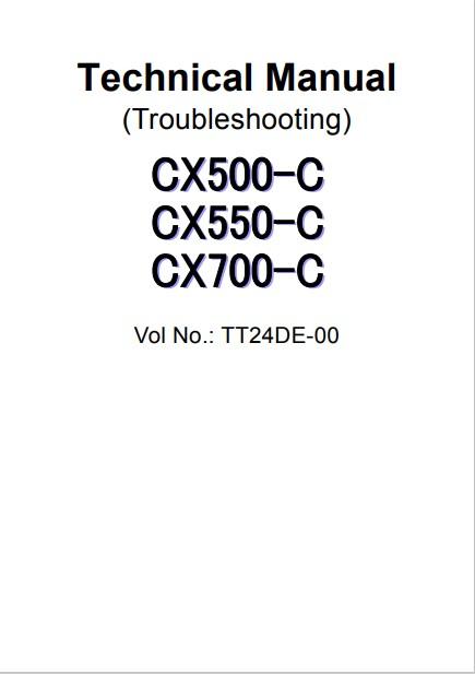 Hitachi CX550 C Crane