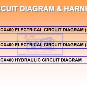 Hitachi Crane CX400 Full Set of Manuals