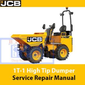 JCB 1T-1 High Tip Dumper Service Repair Manual
