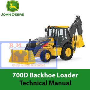 John Deere 700D Backhoe Loader Technical Manual
