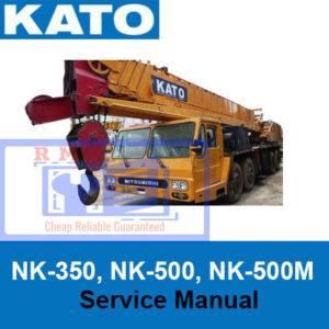 KATO NK-350, NK-500, NK-500M Truck Crane Service Manual