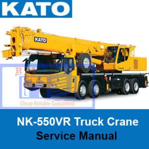 KATO NK-550VR Truck Crane Service Manual