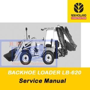 New Holland BACKHOE LOADER LB-620 Service Manual