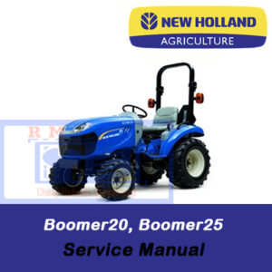 New Holland Boomer20, Boomer25 Compact Tractor Service Manual