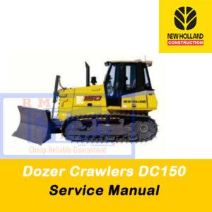 New Holland DC 150 Crawler Dozer Service Repair Manual
