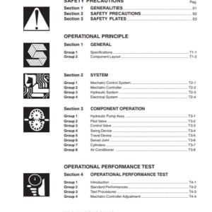 New Holland Kobelco E265, E305 (Tier 3) Workshop Manual