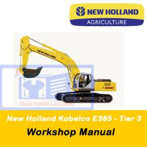 New Holland Kobelco E385 (Tier 3) Workshop Manual