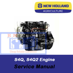 Mitsubishi S4Q, S4Q2 Engine Service Manual [Related With New Holland Products]