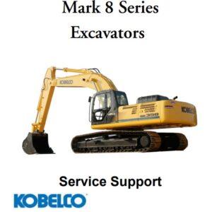 Kobelco Mark 8 Series Excavator Service Support Manual