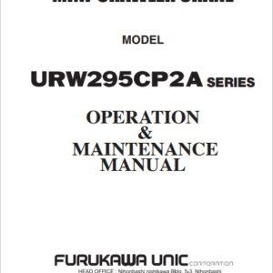 Furukawa Crane URW295CP2A Series Operation and Maintenance Manual