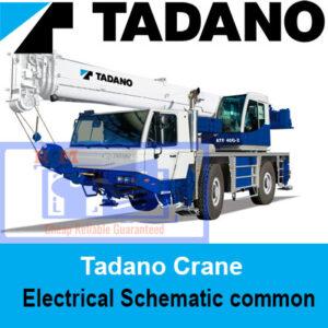 Tadano Crane Electrical Schematic common