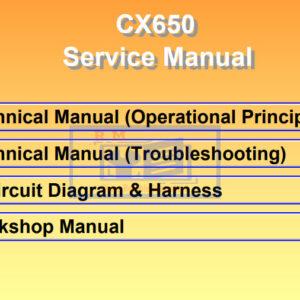 Hitachi Crane CX650 Full Set of Manuals