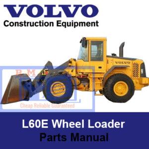 Volvo L60E Wheel Loader Parts Manual