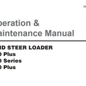 Doosan Skid Steer Loader 440, 460, 470 Operation and Maintenance Manual
