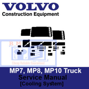 MP7, MP8, MP10 Truck Engine Service Manual [Cooling System]