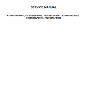 New Holland Cursor 13 Two Stage Turbocharger Tier 4B (final) and Stage IV Engine Service Manual (Part # 47869999)