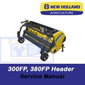 New Holland 300FP, 380FP Header Service Manual