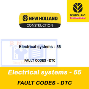 New Holland Electrical systems – 55