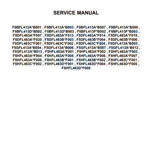 New Holland F5 Tier 4B (final) and Stage IV Engine Manual