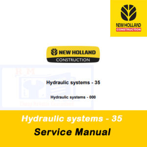 New Holland Hydraulic systems-35