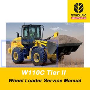 New Holland W110C Tier II Wheel Loader Service Manual