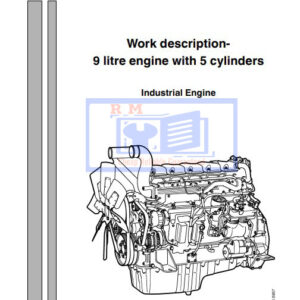 Scania 9 litre engine with 5 cylinders Engine Workshop Manual