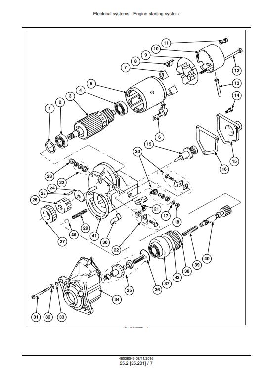 new holland B110C repair manual pdf